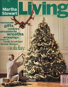 Martha Stewart Living Magazine December 1992 Magazine