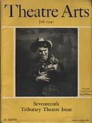 Theatre Arts Magazine July 1940 Magazine