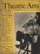 Theatre Arts Magazine November 1940 Magazine
