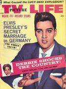TV Picture LIFE Magazine April 1960 Magazine