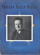 Chicago Police Digest October 1947 Magazine