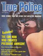 True Police Cases Magazine June 1965 Magazine