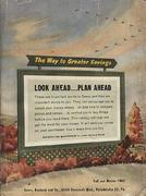 Sears, Roebuck And Co. Philadelphia Fall and Winter Catalog Magazine