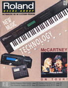 Roland Users Group Vol. 8 No. 1 Magazine