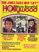 Rona Barrett Magazine March 1973 Magazine