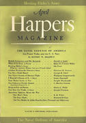 Harper's Magazine April 1941 Magazine