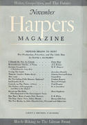 Harper's Magazine November 1941 Magazine
