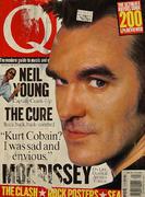 Q Magazine September 1995 Vintage Magazine