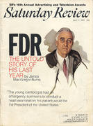 The Saturday Review April 11, 1970 Magazine