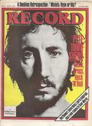 Record Magazine August 1982 Vintage Magazine