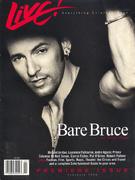 Live! Magazine February 1996 Vintage Magazine