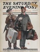 The Saturday Evening Post April 23, 1921 Magazine