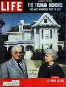 LIFE Magazine September 26, 1955 Magazine