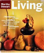 Martha Stewart Living Magazine November 1994 Magazine