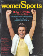 Women Sports Magazine June 1974 Magazine