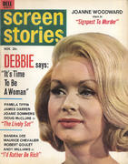 Screen Stories Magazine November 1964 Magazine