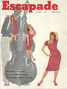 Escapade Magazine February 1958 Magazine
