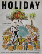 Holiday Magazine February 1965 Magazine
