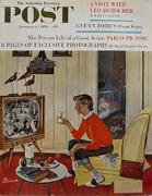 The Saturday Evening Post January 4, 1958 Magazine