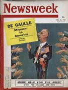 Newsweek Magazine April 25, 1960 Magazine