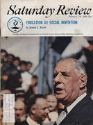 The Saturday Review February 19, 1966 Magazine