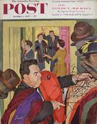 The Saturday Evening Post October 1, 1955 Magazine