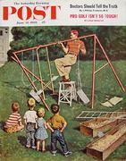 The Saturday Evening Post June 16, 1956 Magazine