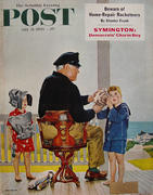 The Saturday Evening Post July 21, 1956 Magazine
