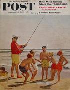 The Saturday Evening Post September 1, 1956 Magazine