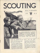 Scouting Magazine October 1933 Magazine