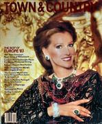 Town & Country Magazine April 1983 Magazine