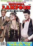 National Lampoon: All-Star Music Issue October 1985 Magazine