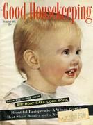 Good Housekeeping February 1954 Magazine