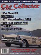 Car Collector and Car Classics Magazine October 1989 Magazine