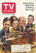 TV Guide May 24, 1969 Magazine