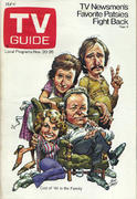 TV Guide November 20, 1971 Magazine