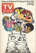 TV Guide April 7, 1973 Magazine