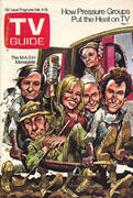 TV Guide February 9, 1974 Magazine