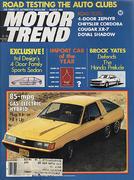 Motor Trend Magazine March 1980 Magazine