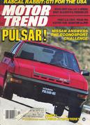 Motor Trend Magazine November 1982 Magazine