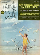 Family Circle Magazine July 1955 Magazine