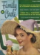 Family Circle Magazine August 1955 Magazine