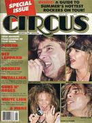 Circus Magazine Special Issue June 1988 Magazine
