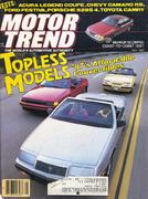 Motor Trend Magazine May 1987 Magazine