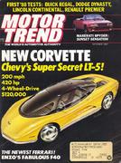 Motor Trend Magazine October 1987 Magazine