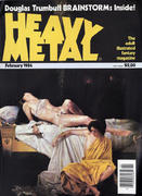 Heavy Metal Magazine February 1984 Magazine
