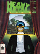 Heavy Metal Magazine February 1980 Magazine