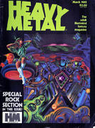 Heavy Metal Magazine March 1982 Magazine