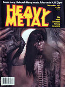 Heavy Metal Magazine December 1981 Magazine