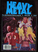 Heavy Metal Magazine March 1981 Magazine